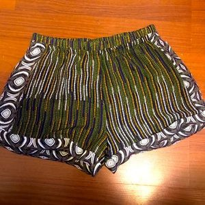 2 for $20 | H&M | Printed Tribal shorts | Large